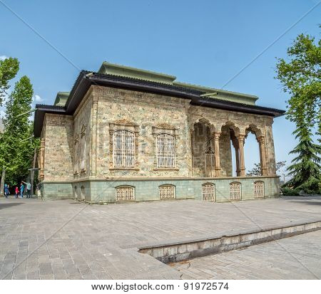 Saadabad Palace - Green palace