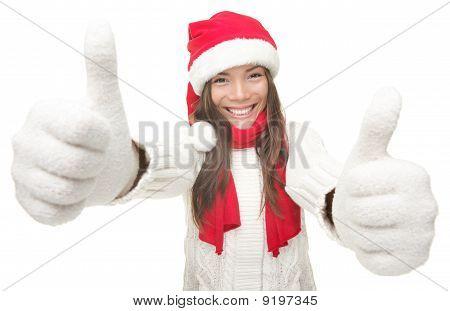 Christmas Woman Success