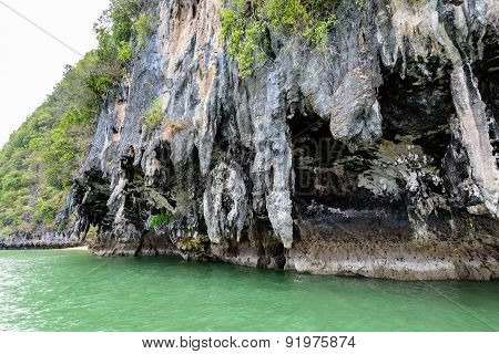 Exotic Stone Caves Of The Island