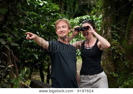Central American Tourists