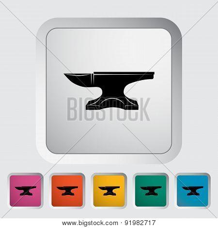 Anvil. Blacksmith equipment.