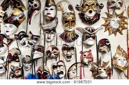 Venice Mask's Carnival Shop