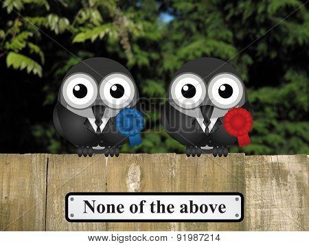 Bird Politicians