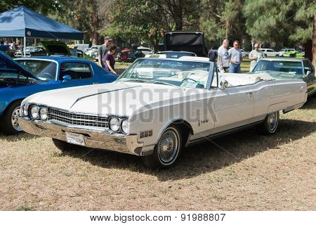 Used Oldsmobile Ninety-eight Car On Display