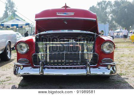 Chevrolet Bel-air Car On Display