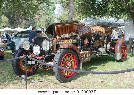 La Bestioni Car On Display