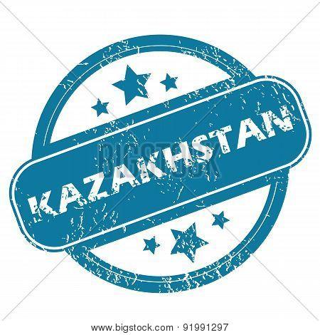 KAZAKHSTAN round stamp