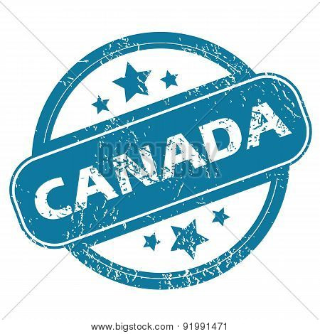 CANADA round stamp