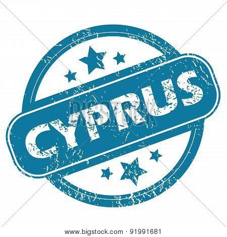 CYPRUS round stamp
