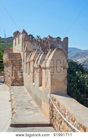 Moorish Castle, Almeria, Andalusia, Spain