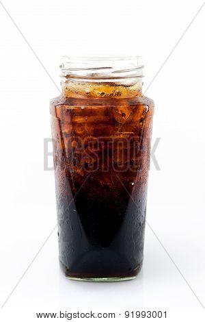 Ice Soft Drink In Bottle