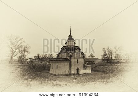 Rostov Veliky, The Church Of The Transfiguration (or Saviour On Sand, Or Spasopeskovskaya) Construct