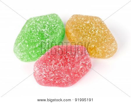 Close-up Of Colorful Jelly Candies