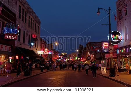 Beale street by night