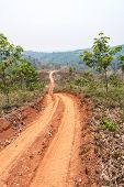 image of land development  - Roads in rural areas of developing countries - JPG