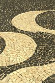 pic of carnival rio  - Typical sidewalk of Rio de Janeiro designed by Oscar Niemeyer - JPG