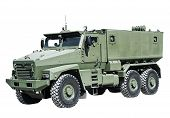 pic of military personnel  - Armored Car enhanced security for the transportation of personnel - JPG