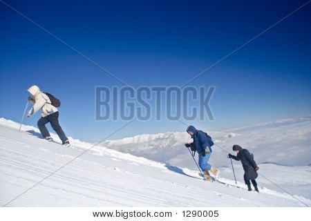 Alpine Expedition Climbing Mt. Sar Planina
