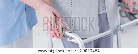 Carer And Disabled Patient