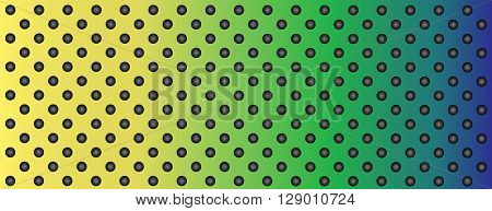 High resolution concept conceptual colorful metal stainless steel aluminum perforated pattern texture mesh background