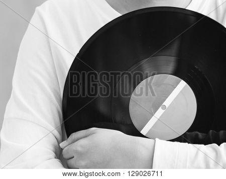 Vinyl Analog Audio Classic Record Spin Vintage Concept