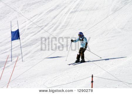 Competición de esquí