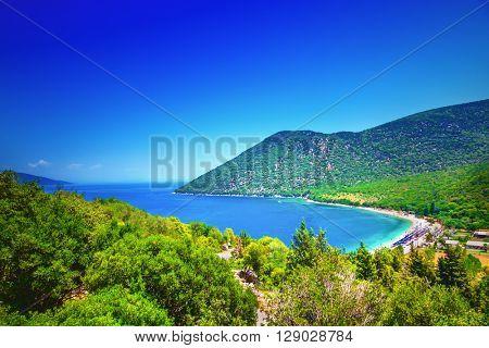 Antisamos beach (Greece, Kefalonia).