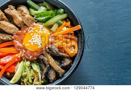 Bowl Of Bibimbap