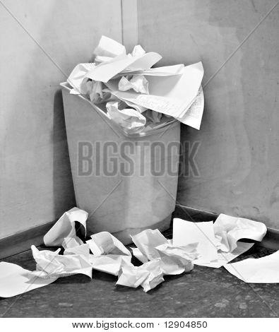 office wastebasket