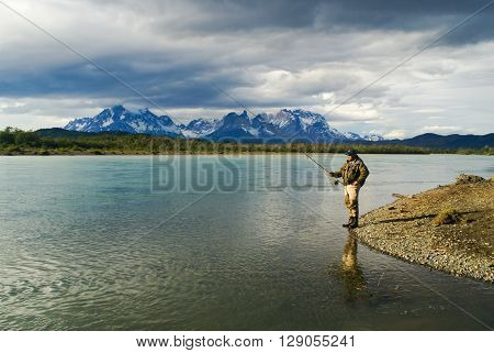 Fishing Man