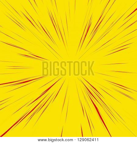 Abstract Background With Radial, Radiating, Converging Lines.