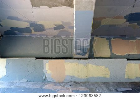 Underside Of Bridge Graffiti Painted Over