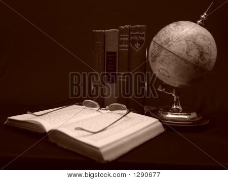 Books And Globes
