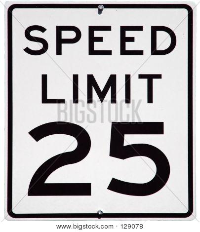 Speed Limit 25