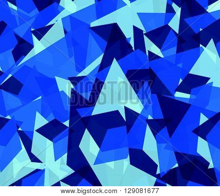 Abstract Edgy, Angular Background, Texture
