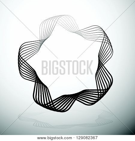 Abstract Rounded Motif