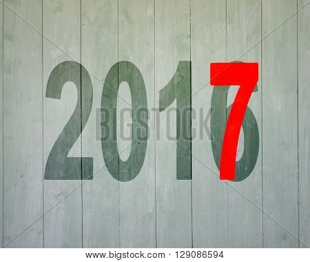 2016 To 2017, Happy New Year Concept