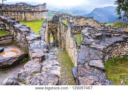 Entrance Of Kuelap, Peru