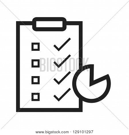 Survey, customer, satisfaction icon vector image. Can also be used for digital web. Suitable for use on web apps, mobile apps and print media.