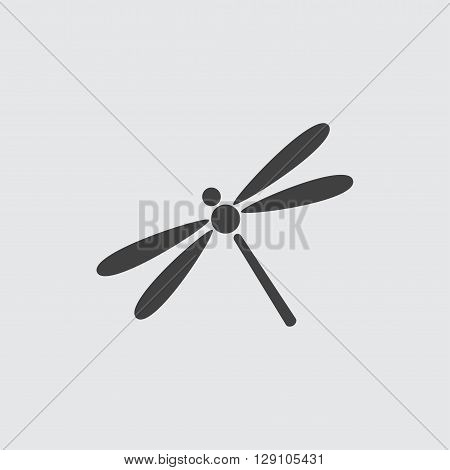 Dragonfly icon illustration isolated vector sign symbol