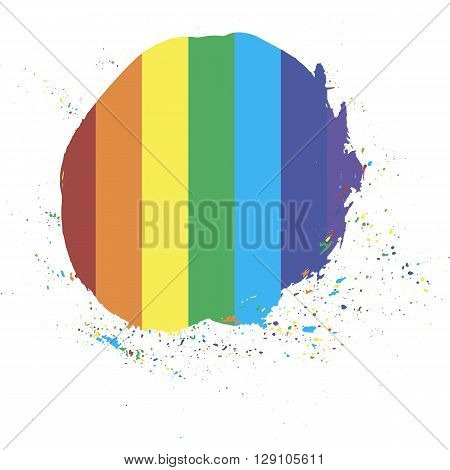 rainbow sign informal gay lesbian rights pride different