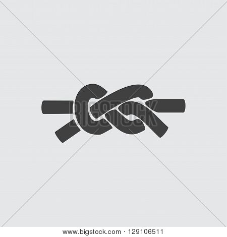 Knot icon illustration isolated vector sign symbol