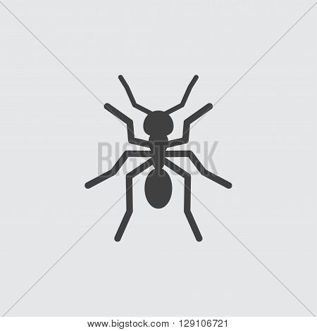 Ant icon illustration isolated vector sign symbol