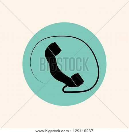 icons for websites silhouette drawn vector phone
