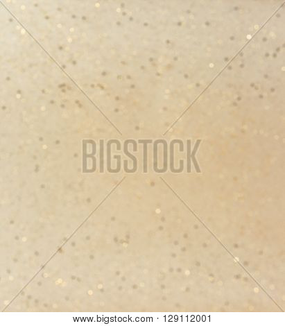 Defocused christmas background - golden color -