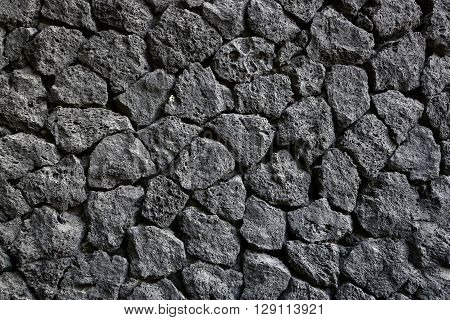 High resolution image of black stone background