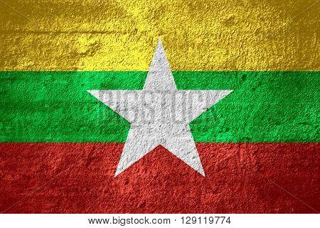 Flag Of Burma, Myanmar