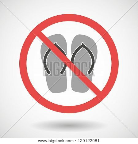 Forbidden Vector Signal With    A Pair Of Flops