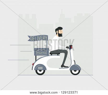 Devilery_motobike_man_grean