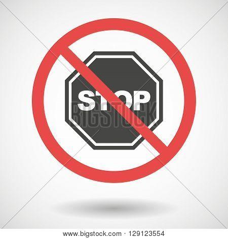 Forbidden Vector Signal With   A Stop Signal
